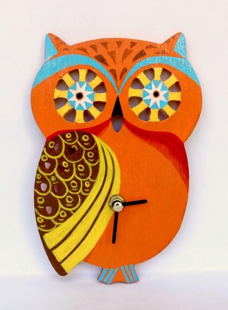"""Ceas+camera+copilului+""""Orange+Owl"""""""