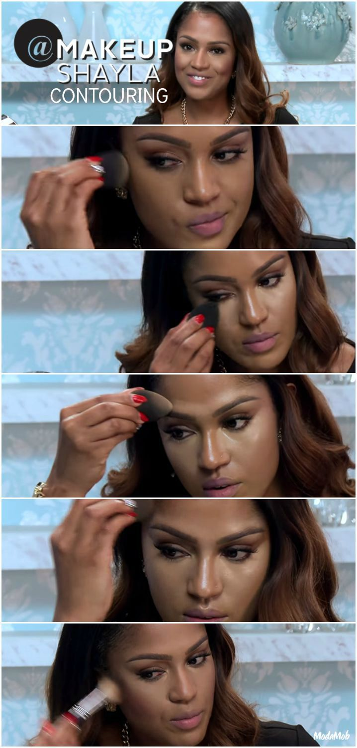 MakeupShayla Breaks Down Highlighting and Contouring - Click for full list of steps