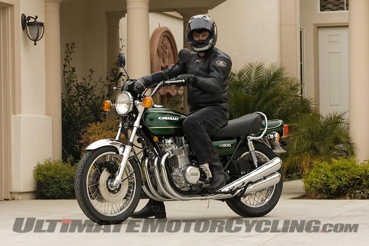 My Kawasaki KZ900; restored by Redline Motors, Skokie, Illinois. What a fantastic job they did.