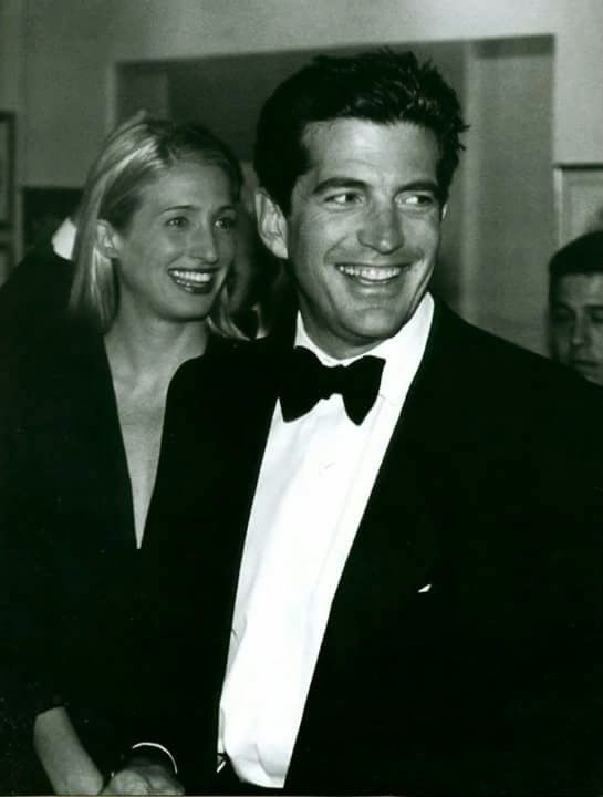 John F Kennedy, Jr and wife