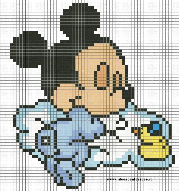 Baby Mickey Mouse pattern by syra1974 on DeviantArt