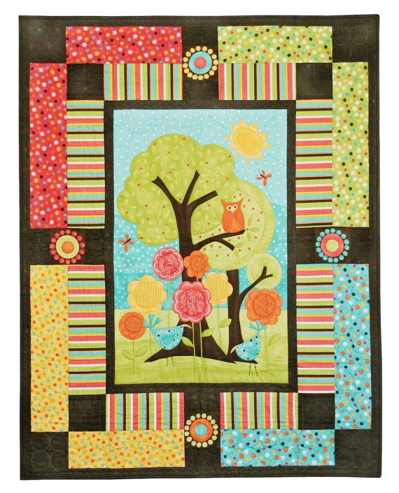 63 best Quilts - panels images on Pinterest | Cards, Crafts and ... : quilt panel kits - Adamdwight.com
