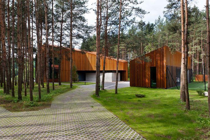 Дом в лесу, в Каунасе-на Studija Archispektras (4)