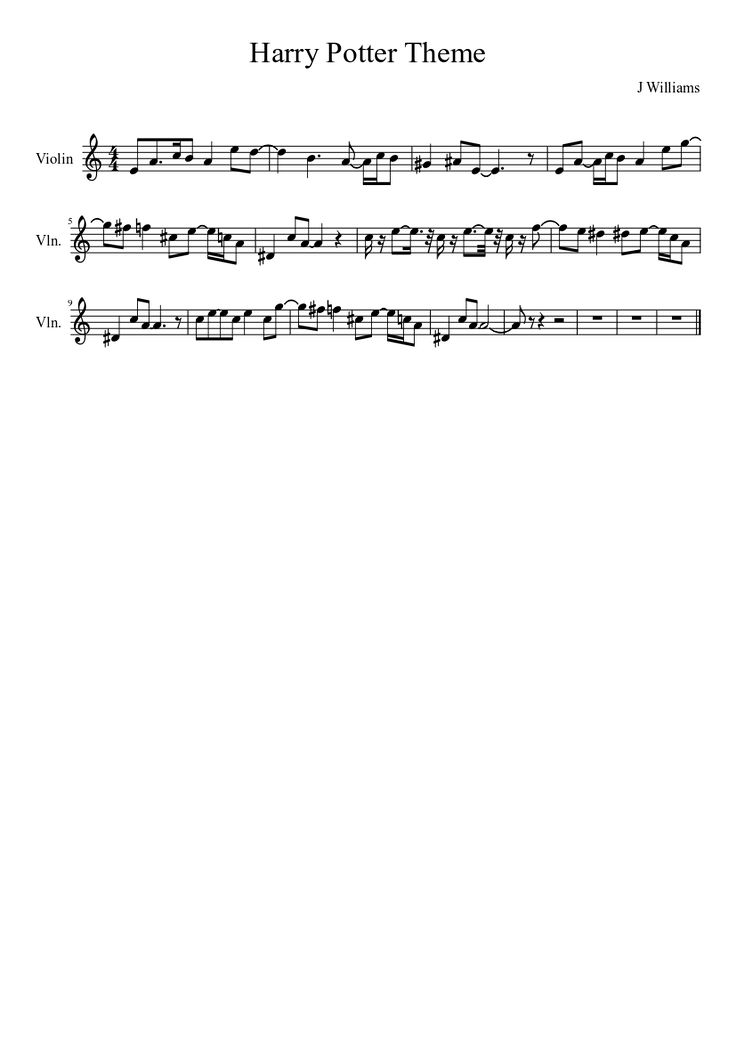 Sheet music made by Guillermolineroa for Violin