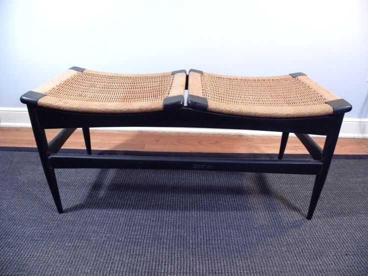 Amazing Mid Century Vintage Bench Made in Italy by VintageIndustriesInc on Etsy https://www.etsy.com/listing/480684900/amazing-mid-century-vintage-bench-made