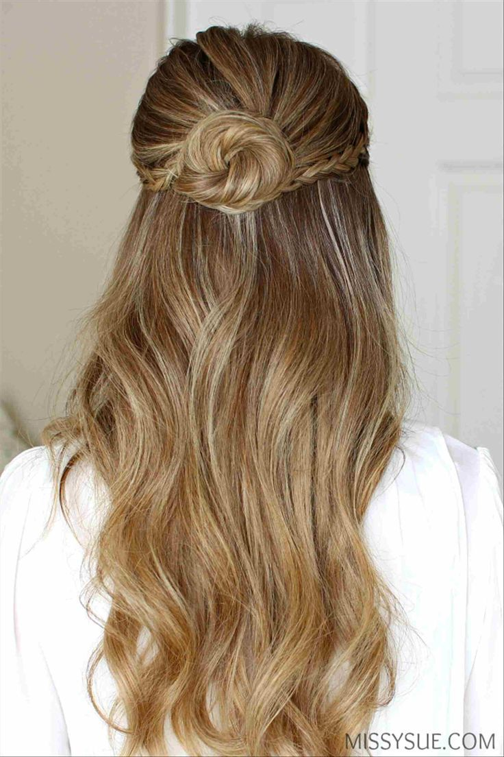 Formidable Homecoming Half Up Half Down Hairstyles With Additional Home Ing Hairstyles Half U Prom Hairstyles For Long Hair Down Hairstyles Half Bun Hairstyles