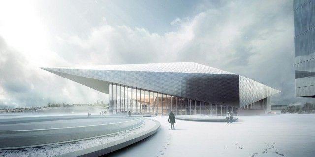 Richter·Dahl Rocha & Associés > Centro de congresos, EPFL. Ecublens