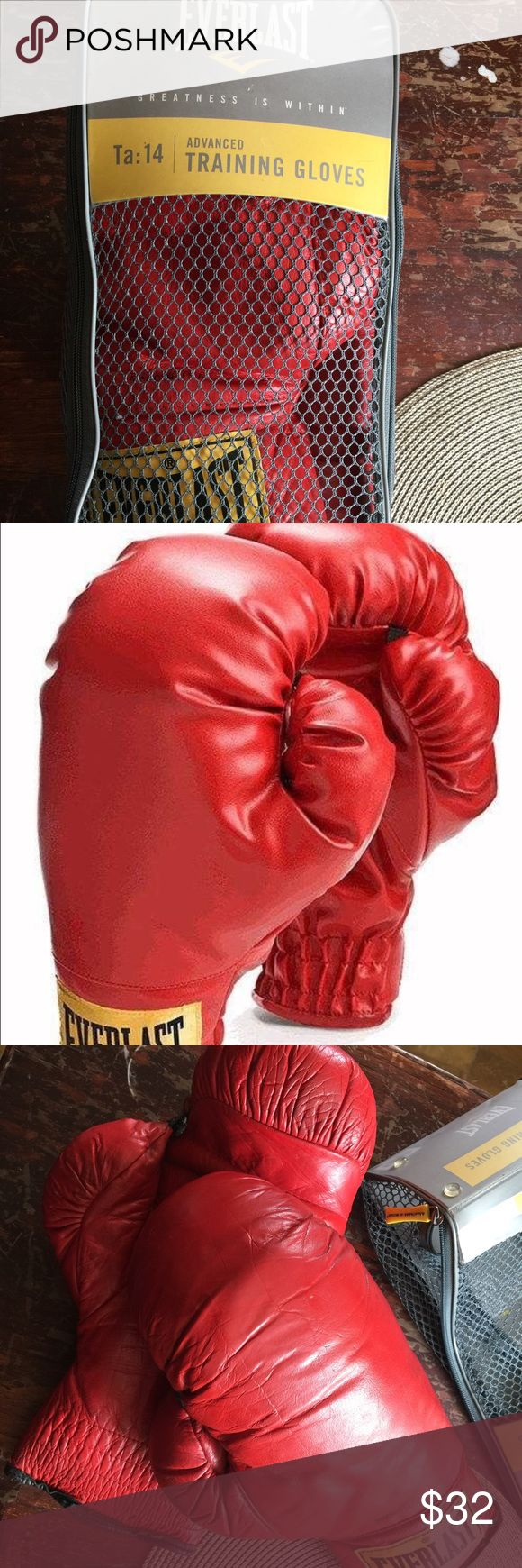 Everlast boxing Gloves Used Everlasting Advanced Pro Style Training Gloves TA:14 #2754. Everlast Other