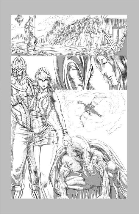 Demon's Revenge page 2