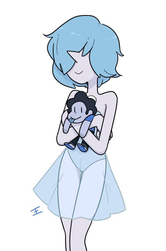 El sueño de una perla azul...un Steven azul Jajajaajaj