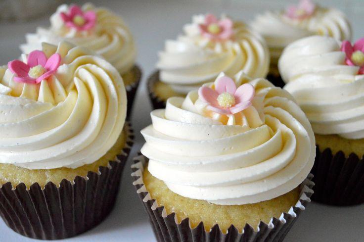 Cupcake Vegano alla Vaniglia | Pandispagna cupcakes e dolci americani: piccoli lussi per il palato