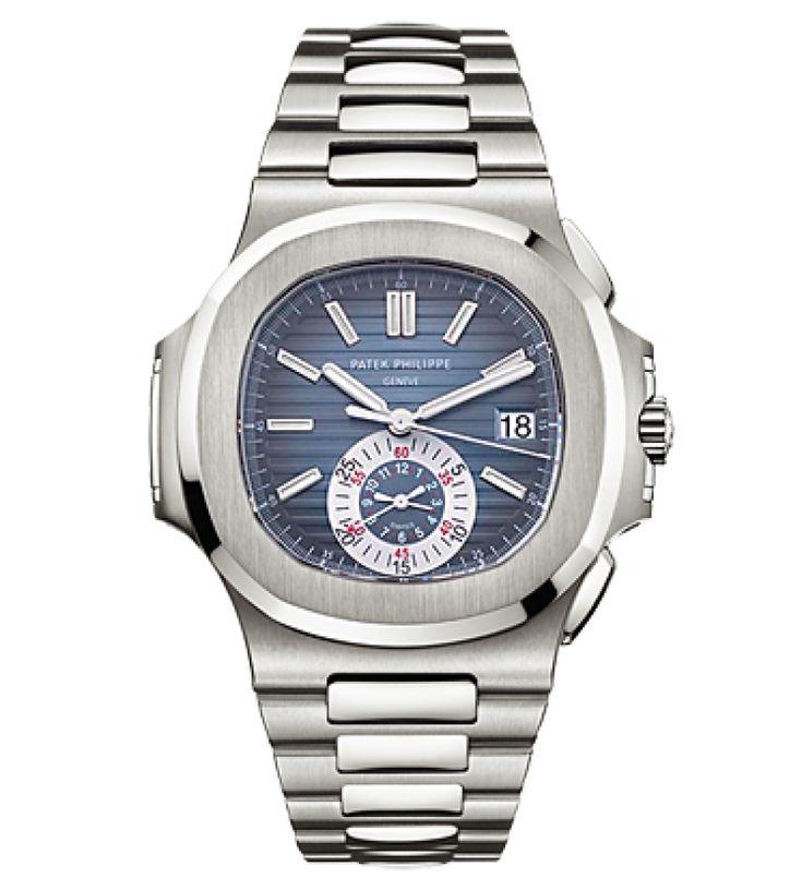 Patek Philippe 5980/1A-001 Nautilus Chronograph Stainless Steel. #PatekPhilippe