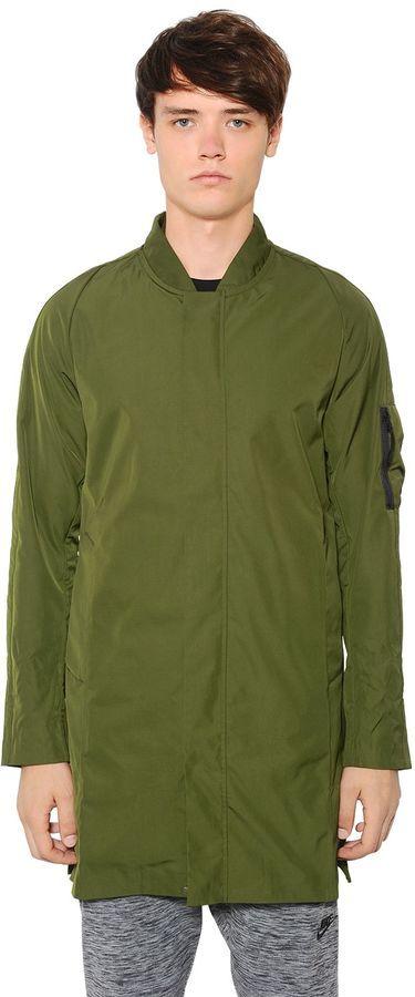 "Price:€ 136.00 | NIKE F.c. Waterproof Nylon Long Bomber Jacket | For more details click ""Visit"""