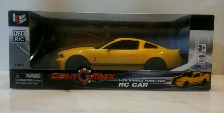 Radio Control Ford Shelby GT 500 1:26 single function New in box