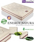 Energi Natura colchón de muelles ensacados con soyabamboo