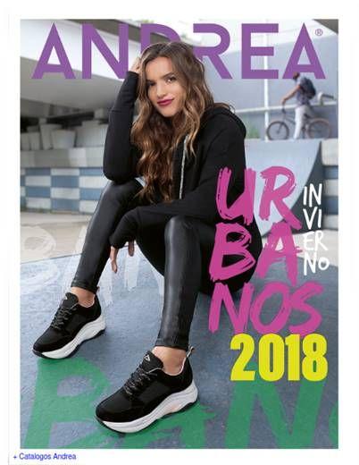 2b8b268ffc Catalogo Andrea  Urbanos Invierno 2018-19.  ModaMexicana  Andrea   CatalogosMX
