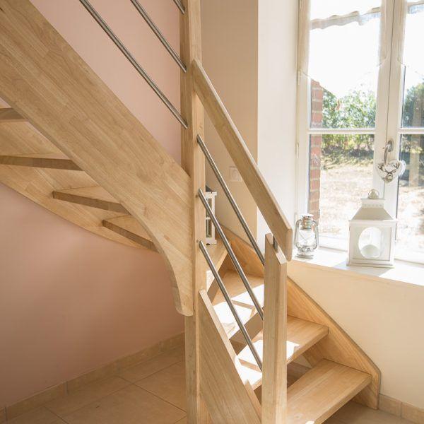 les 25 meilleures id es de la cat gorie escalier quart tournant gauche sur pinterest echelle. Black Bedroom Furniture Sets. Home Design Ideas