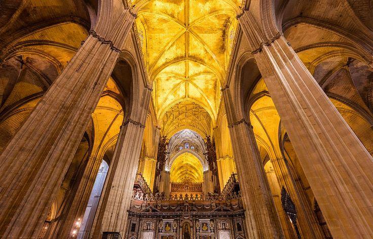 Interiorul Catedralei Sfânta Maria, Sevilla