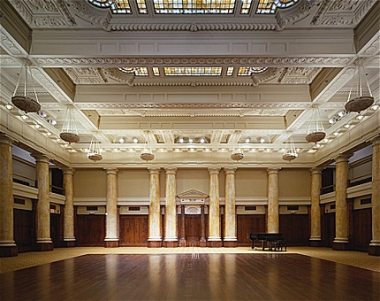 the grand hall the temple for performing arts des moines ia originally modern wedding venuewedding