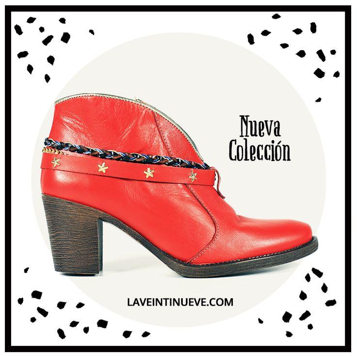 Red Bootie #red #bootie #laveintinueve #barcelona