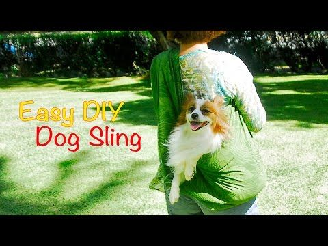 Easy diy dog sling instructions with the belkin tablet - Puppy sling carrier pattern ...