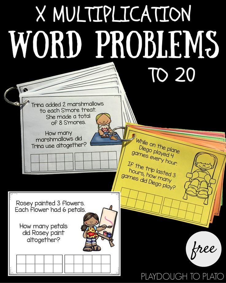 math word problem help This page offers an introduction to problem-solving strategies, followed by a treasure trove of word problems at the middle school level figure this math challenges for families math challenges for families.