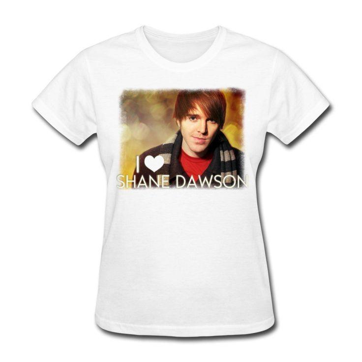 >> Click to Buy << I Heart Shane Dawson Women's T-Shirt  Womens Tops Fashion 2015,Kawaii Punk Women T Shirt SexyMiddle Aged New Women'S T-Shirts #Affiliate