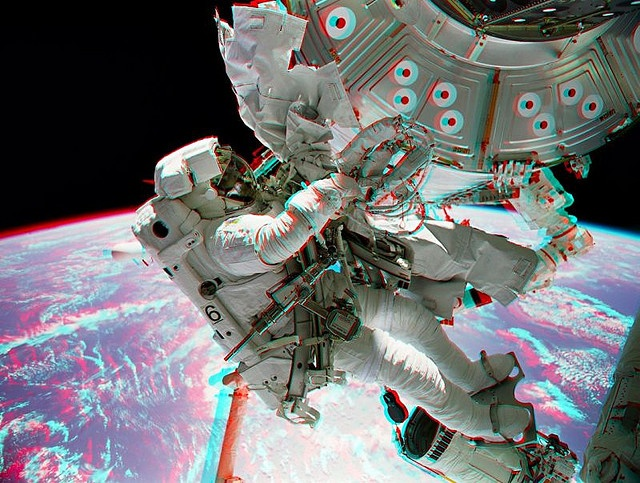 222 best 3d anaglyph stereoviews images on pinterest for Space station 13 3d