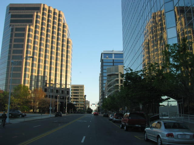 Downtown Greensboro, NC...lived in Greensboro for eight years...