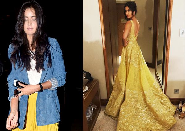 Katrina Kaif and her torrid love affair with yellow speaks volumes about her current mood #FansnStars