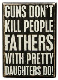 Box Sign - Guns