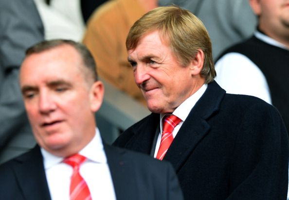 Liverpool's non-executive director Kenny Dalglish arrives for the English Premier League football match between Liverpool and Crystal Palace at the Anfield stadium in Liverpool, northwest England, on October 5, 2013.  Liverpool won 3-1