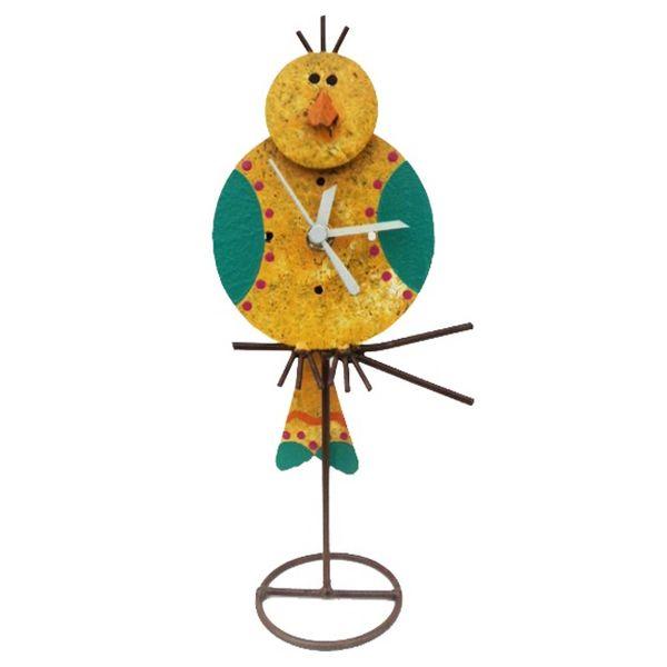 Oxidos Canairo Table Clock - Yellow