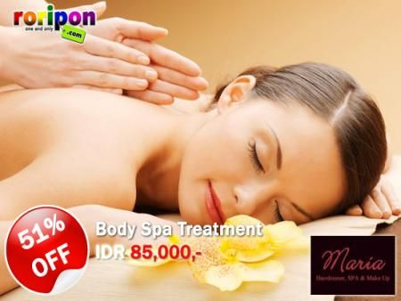 cheap body spa with super discount ony at www.roripon.com