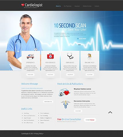 64 best images about Medical website/app on Pinterest