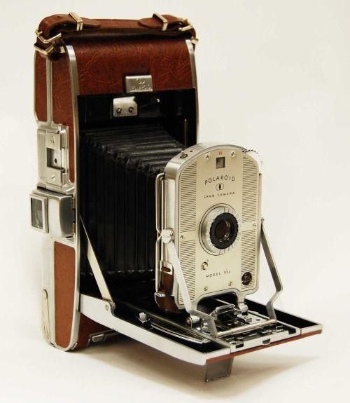 Model Land Movie: Polaroid Land Camera, Model 95A Manufactured 1949-1950