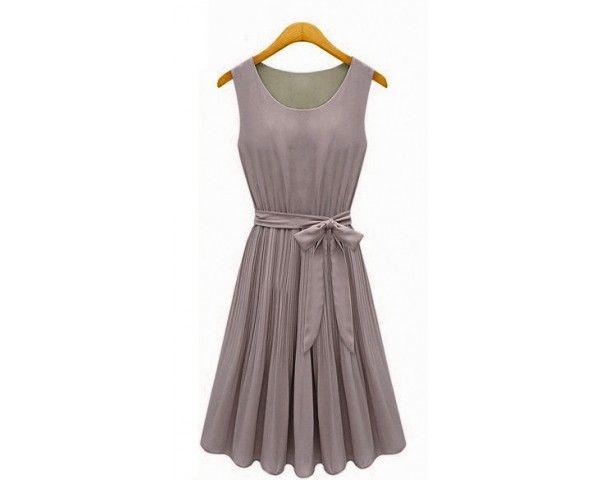 Dámské letní šaty Gaulo šedé