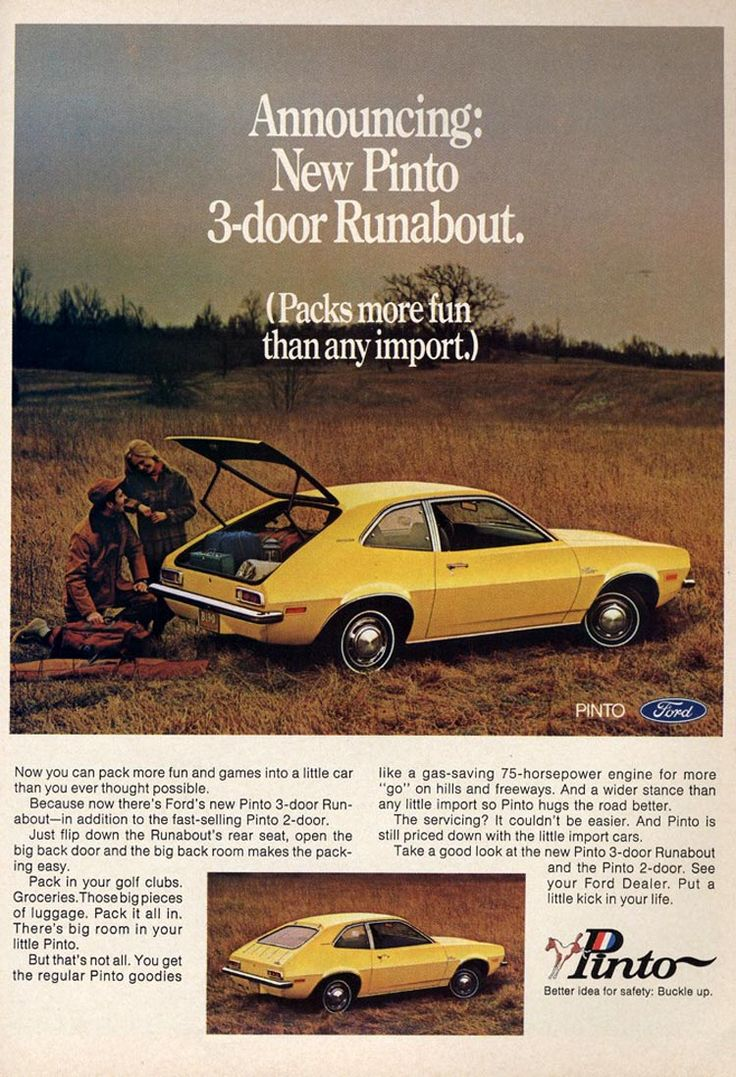 My first car- 1971 yellow Ford Pinto. Parents bought this car used for me & 42 best Pinto- Poor thing! images on Pinterest | Ford pinto First ... markmcfarlin.com