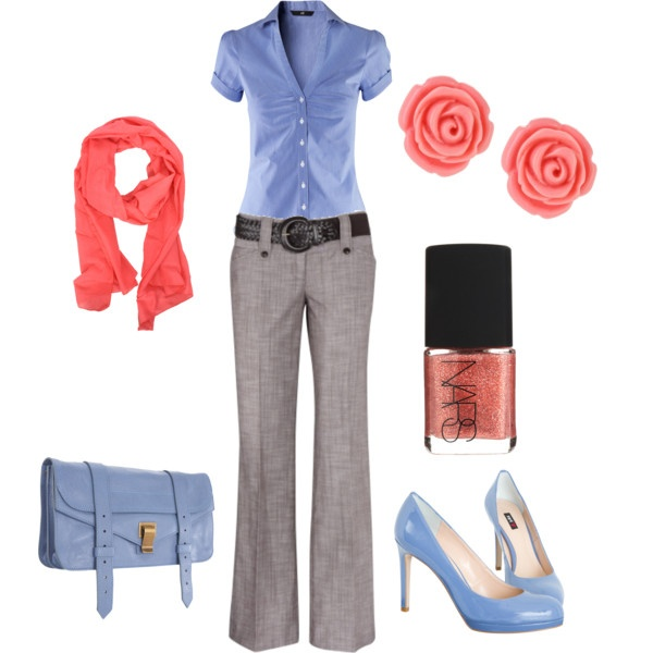 Casual Thursday | Outfit Work Outfits And Color Combos