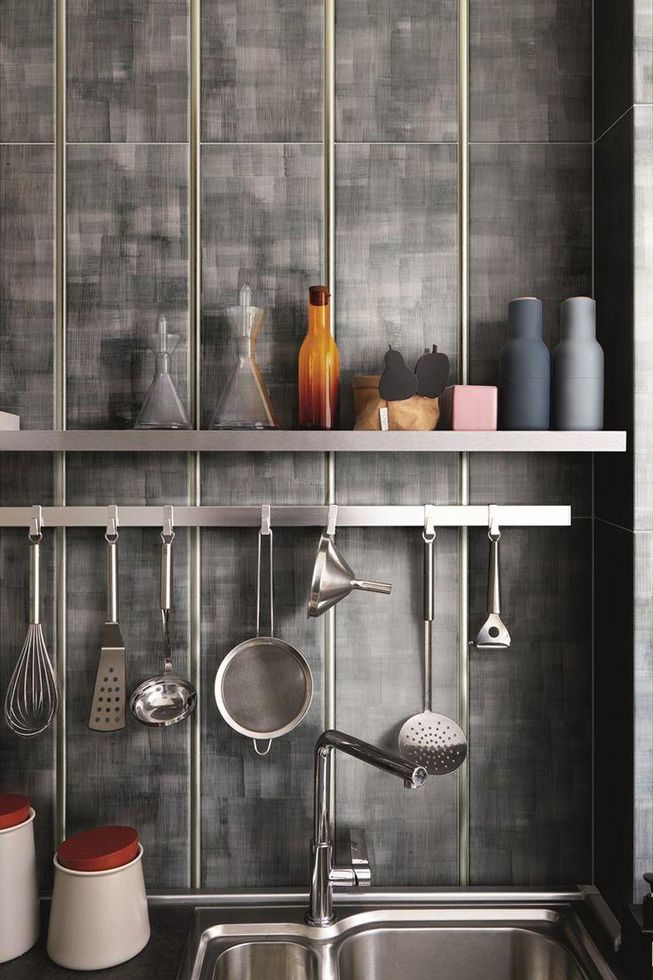 #handmade wall #tiles SHOJI by CERAMICA BARDELLI #kitchen @ceramica creativa tenerife Bardelli