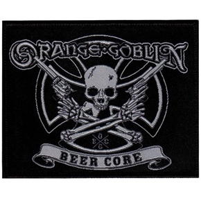 "Official licensed sew on Orange Goblin Beer Core patch. Size measures 10cm (4"") x 8cm (3""), perfect for jackets, jeans, shirts, bags etc"