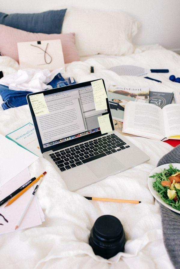   Great Study Set-ups, desk, study time, study layout, desk design, getting ready to study