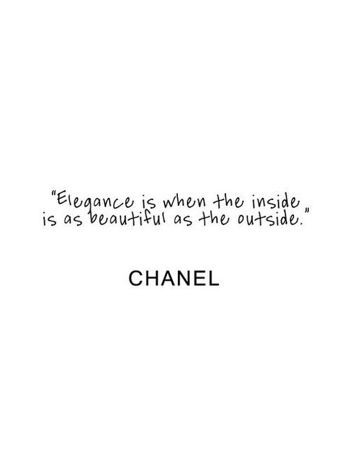 Coco Chanel quote for the bathroom