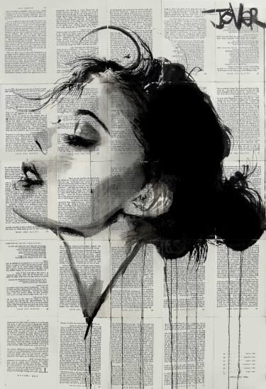 "Saatchi Art Artist Loui Jover; Drawing, ""ever"" #art"