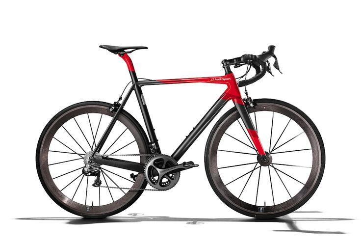 Le nouveau vélo d'Audi coûte aussi cher qu'une A1 - http://www.leshommesmodernes.com/audi-sport-racing-bike-velo/