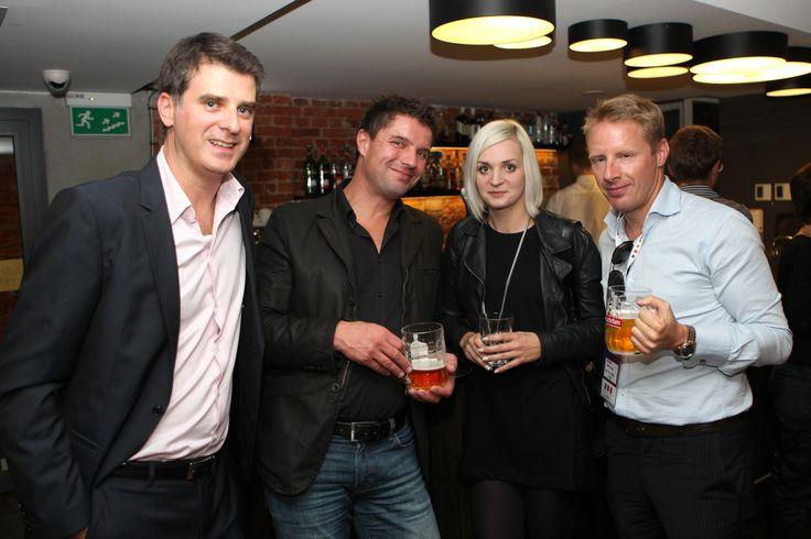 From the left: Olgierd Cygan (Founder of Filmteractive), Bernhard Hafenscher (Red Bull Media House), Anna Iller (Grupa Allegro), Stephan Bernhard (Red Bull Media House)