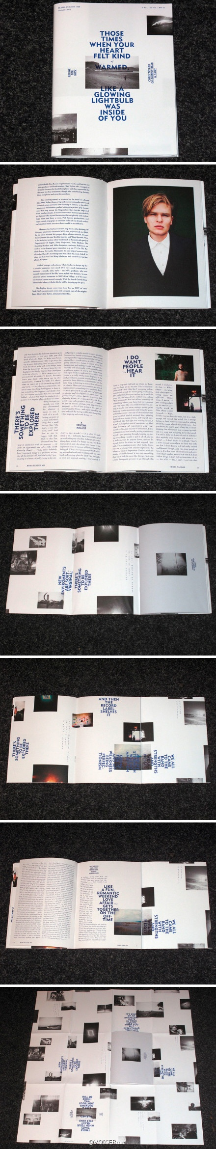 "杂志 | 柏林人物访谈独立杂志mono.kultur最新一期#29的主角是,摄影师Chris Taylor。""Those times when your heart felt kind of warmed, like a glowing lightbulb was inside of you."" - Chris Taylor"