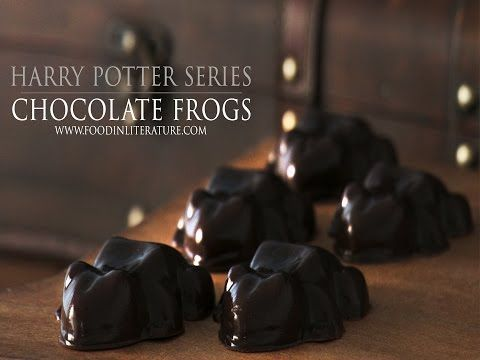 Harry Potter; Honeyduke's Chocolate Frogs | Food in Literature
