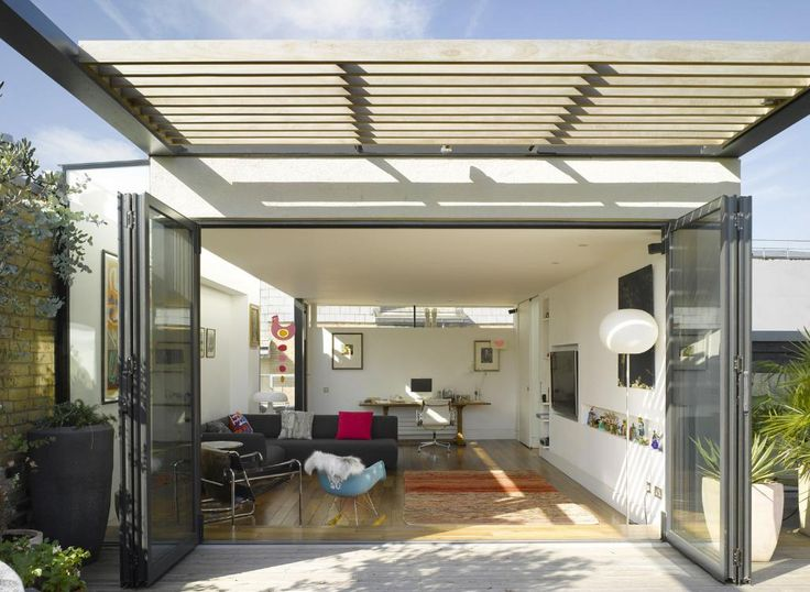 Rooftop inner and outer extensions sunrooms for Home outer design