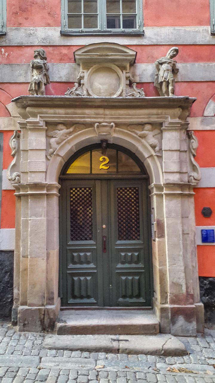 Portal at Bartel House in Stockholm